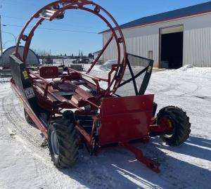 Anderson IFX720 bale wrapper Farm King Combo
